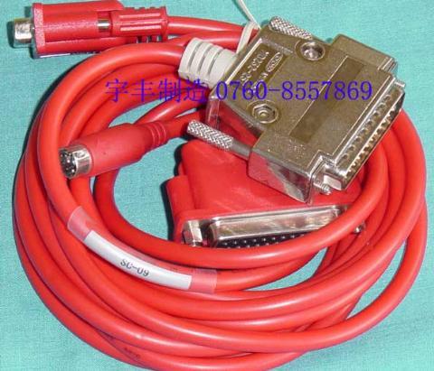 各种品牌plc通讯连接电缆