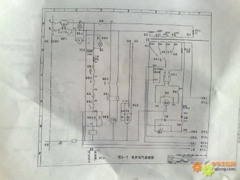 下面是福斯特线切割机电路图