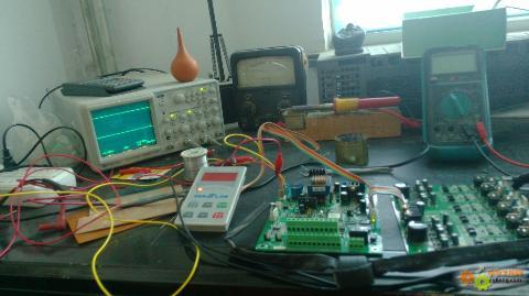 森兰sb61+变频器报fl故障检修过程