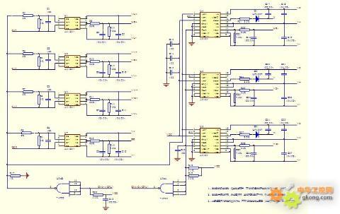kv2000/15kw驱动电路原理图