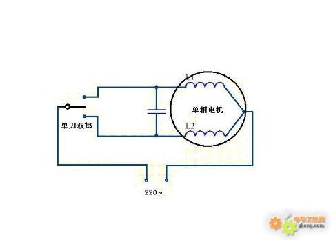 电风扇电容调速器原理