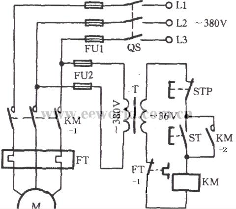 怎样看电动机控制线路图(答复网友提问)