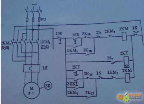 (1) 选用西门子s7-300plc作为控制主机  (2) 根据图2所示的控制线路