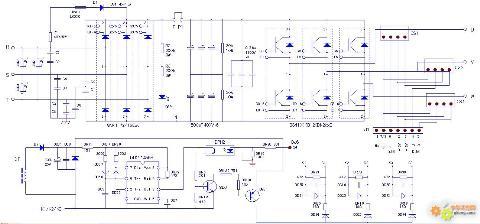 变频器主电路中的可控整流电路