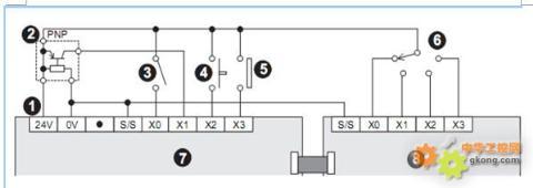请教fx2n-32mr-es/ul的接线方法