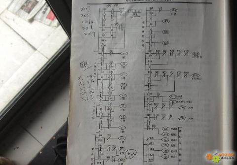 主题:plc电梯梯形图