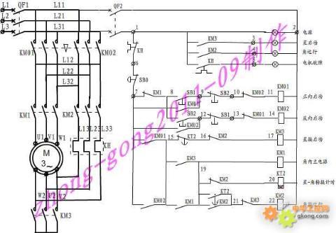 控制电路均能自动完成启动过程